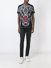 Us Kaufen Philipp Plein Schuhe Kaufen Philipp Plein U0027bite Us U0027 T Shirt
