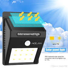 Solar Powered Motion Sensor Outdoor Light by 12 Led Solar Lights Iextreme Waterproof Solar Powered Motion