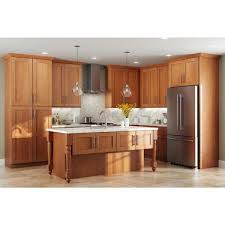 blind corner kitchen cabinet home depot home decorators collection hargrove assembled 42x34 5x24 in
