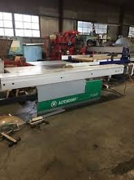 altendorf sliding table saw 2006 altendorf f45 sliding table saw 10 hp 3 ph 2006 excellent