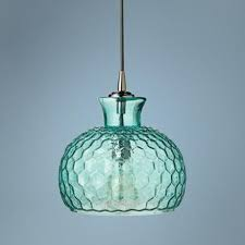 aqua glass pendant light clark collection 10 wide aqua jamie young glass pendant glass