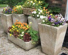 Concrete Planter Boxes by Riverbed Concrete Concrete Planters Fire Bowls Bowls Pots