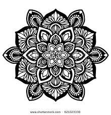 mandala ornament stock vector 172052447