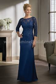 of the gowns k198003 illusion neckline lace satin chiffon mob dress