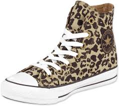 converse designer chucks schuhe all converse all hi w schuhe leopard braun syle seguici