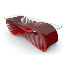 tables red ultra modern coffee table coffee table design coffee