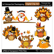 mouse thanksgiving owl clipart