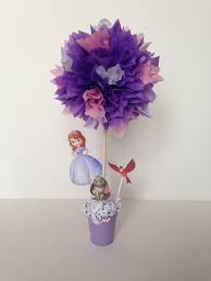 sofia the first birthday party decoration sofia the first