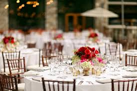Red And Gold Reception Decoration Red Pink And Gold Wedding At St Regis Deer Valley Fab You Bliss