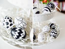 keep calm and easter eggs white and black eggs home table