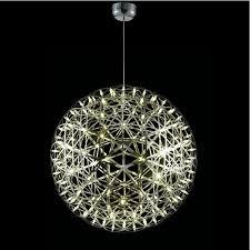 impressive chandelier lights aluminum big riamond