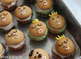 what a dish baby shower cupcakes