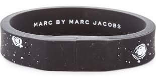 silicone bracelet black images Marc by marc jacobs usb silicone bracelet black multi in black jpeg