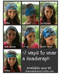 boho hair wrap seasonal scarves for curls