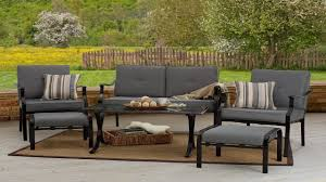 Patio Furniture Set by Outdoor Furniture Strathwood 6 Piece All Weather Furniture