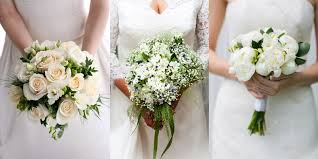 white wedding bouquets white wedding flowers jpg my wedding guides