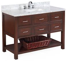 bathroom vanity base cabinets alluring new hshire 48 bath vanity contemporary bathroom vanities