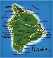 map kona usa big island travel guide
