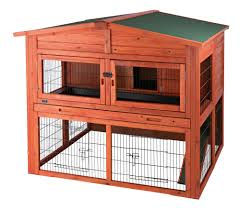 trixie small animal hutch xl with outdoor run rabbit hutch
