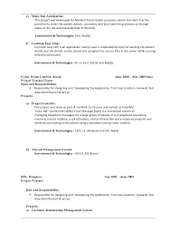 Sample Resume For Qtp Automation Testing by Qa Automation Tester Cover Letter