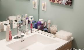 Bathroom Countertop Storage Ideas Download Bathroom Counter Organization Ideas Gurdjieffouspensky Com