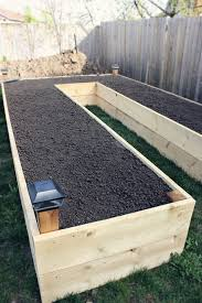 step by step guide to build a u shaped raised garden bed and 11