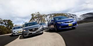 car comparison mazda 6 v toyota camry v honda accord euro v