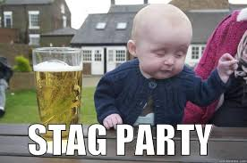 Stag Party Meme - stag baby quickmeme