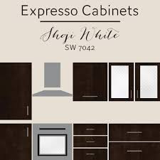 painting kitchen cabinets espresso before and after the best wall colors to update stained cabinets rugh design