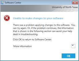 Showing Desk Web Edition Troubleshoot Problems With Software Center It Services