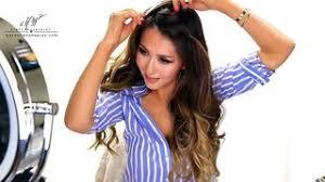 crochet braid ponytail crochet braid ponytail hairstyle for medium hair tutorial
