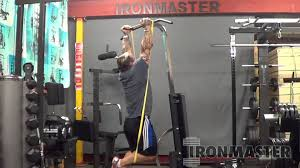 Super Bench Ironmaster Assisted Chin Ups On The Ironmaster Super Bench Youtube