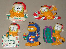 garfield cards lights decoration