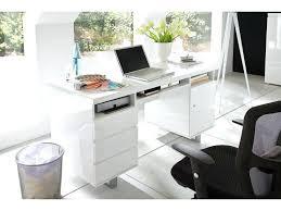 bureau laqué blanc design bureau laque blanc design bureau design blanc laquac avec rangement