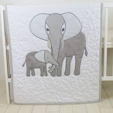 Elephant Crib Bedding For Boys Best Elephant Baby Quilt Products On Wanelo