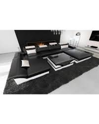 Black Sofa Sectional Don U0027t Miss This Deal Chicago Led Lights Black Leather Sectional