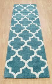 Arabesque Rugs Wool Viscose Traditional Arabesque Rugs Rug Designer Blue Light