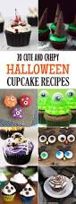 cute and creepy halloween cupcake recipes