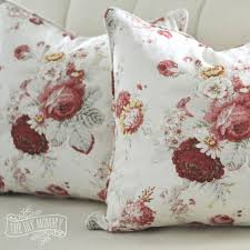 How To Make Sofa Pillow Covers Sew A Piped U0026 Zippered Pillow Cover Tutorial The Diy Mommy