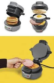 Breakfast Sandwich Toaster Hamilton Beach 25475 Breakfast Sandwich Maker Now Available For