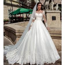 pretty wedding dresses illusion sleeves pretty wedding dresses gown