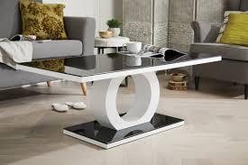 Black Gloss Glass Coffee Table Giovani High Gloss Modern Coffee Table Furniturebox