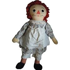 vintage raggedy ann doll knickerbocker sold on ruby lane
