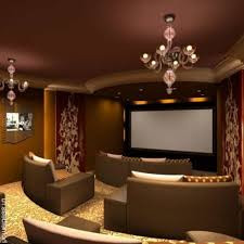 amazing modern home decor comes with simplicity home theater