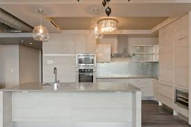 Grey Wood Floors Kitchen by Houston Grey Wood Floors Kitchen Modern With City View And Bath