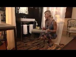 candice olson classic luxe bathroom youtube