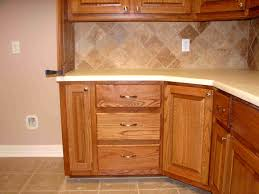 Tile Under Kitchen Cabinets Cabinets U0026 Drawer Cherry Wood Kitchen Pantry Cabinet Corner