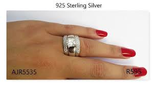 wedding ring sets south africa 925 sterling silver engagement rings wedding ring sets and