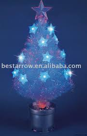 small fiber optic tree lights decoration