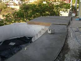 Concrete Bathtub Mold Diy Concrete Swimming Pool 7 Steps With Pictures